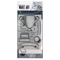 Ranger Ink - Wendy Vecchi - Make Art - Stamp, Die, and Stencil Set - Award Winning