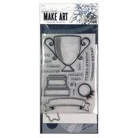 Ranger Ink - Wendy Vecchi - Make Art - Stamp, Die, and Stencil Set - Award Winning