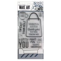 Ranger Ink - Wendy Vecchi - Make Art - Stamp, Die, and Stencil Set - Let's Shop