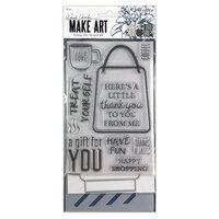 Ranger Ink - Wendy Vecchi - Make Art - Stamp, Die, and Stencil Set - Let's Shop