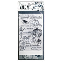 Ranger Ink - Wendy Vecchi - Make Art - Stamp, Die, and Stencil Set - Autumn Greetings