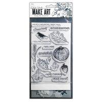 Ranger Ink - Wendy Vecchi - Make Art - Stamp, Die, and Stencil Set - Autumn Greetings