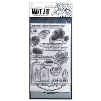 Ranger Ink - Wendy Vecchi - Make Art - Stamp, Die, and Stencil Set - Warm Wishes