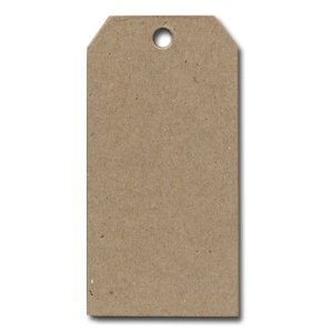 Rusty Pickle Tags - Chip Board