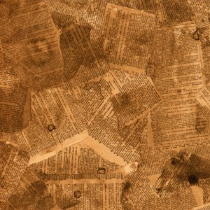 Rusty Pickle Patterned Paper - Vintage Dictionary