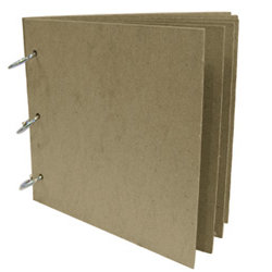 Rusty Pickle - Chipboard Loose Leaf Album - 6x6, CLEARANCE