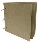 Rusty Pickle - Chipboard Loose Leaf Album - 6x6, CLEARANCE