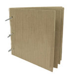 Rusty Pickle - Cardboard Loose Leaf Album - 6x6, CLEARANCE