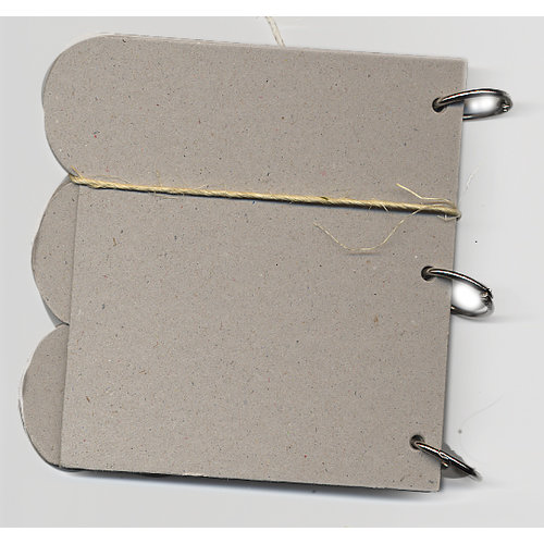 Rusty Pickle - Chipboard Album - Tabbed, CLEARANCE