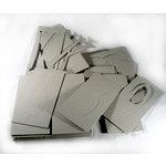 Rusty Pickle - Stencils - Jumbo Monogram Chipboard Alphabet