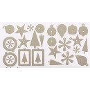 Rusty Pickle - Merry Grinch-mas Collection - Chipboard Ornaments, CLEARANCE