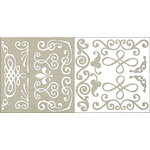 Rusty Pickle - Chipboard Accents - Swirly Whirlie