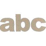 Rusty Pickle - 12 x 12 Chipboard Alphabet - Chunky ABC, CLEARANCE