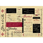 Rusty Pickle - Mayflower Collection - Cardstock Coupons , CLEARANCE