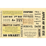 Rusty Pickle - School Daze Collection - Cardstock Coupons , CLEARANCE