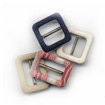 Rusty Pickle - Fabric Buckles - Rustic, CLEARANCE