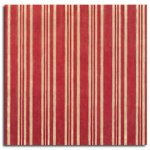 Rusty Pickle Patterned Paper - Molly Striped Pajamas, CLEARANCE