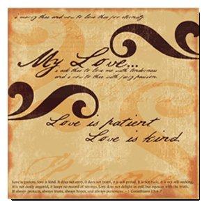 Rusty Pickle - 12x12 Paper - My Love