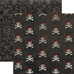 Rusty Pickle - 12x12 Double-Sided Paper - Cap'n Jack Collection - Boots N' Bones, CLEARANCE