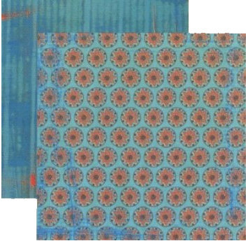 Rusty Pickle - Pashmina Collection - Doublesided Paper - Shanta, CLEARANCE