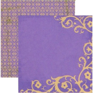 Rusty Pickle - Guenivere Collection - Doublesided Paper - Mideval Dream