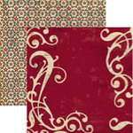 Rusty Pickle - Mayflower Collection - Double Sided Paper - Pricilla Mullins