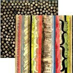 Rusty Pickle - School Daze Collection - 12x12 Paper - Detention