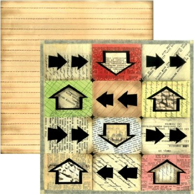 Rusty Pickle - School Daze Collection - 12x12 Paper - Pop Quiz