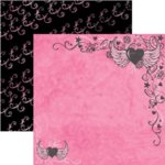 Rusty Pickle - Pirate Princess Collection - 12x12 Paper - Charlotte de Berry