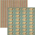 Rusty Pickle - Pickelicious Collection - 12x12 Paper - Grandma Rocks, CLEARANCE