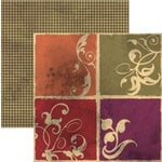 Rusty Pickle - French Market Collection - 12x12 Double Sided Paper - Quatre, CLEARANCE