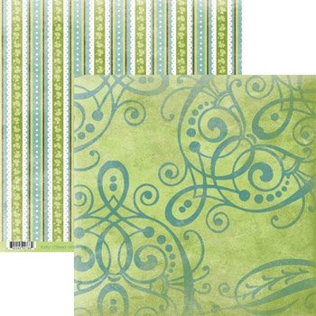 Rusty Pickle - Lucky Collection - St. Patrick's Day - 12x12 Double Sided Paper - Kitty O'Shea's