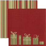 Rusty Pickle - White Christmas Collection - 12 x 12 Double Sided Paper - O Christmas Tree, BRAND NEW