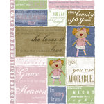 Rusty Pickle - Girly Girl Stickers, CLEARANCE