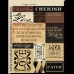 Rusty Pickle - Cardstock Stickers - Vintage Heirloom