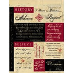 Rusty Pickle - Mayflower Collection - Cardstock Stickers , CLEARANCE