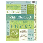 Rusty Pickle - Lucky Collection - St. Patrick's Day - Cardstock Stickers - Lucky