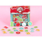 Ruby Rock It Designs - Kindred Spirit Collection - Chipboard Alphabet Pieces, CLEARANCE
