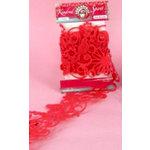 Ruby Rock It Designs - Kindred Spirit Collection - Felt Border - Shocking Pink, CLEARANCE
