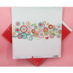 Ruby Rock It Designs - Kindred Spirit Collection - 12 x 12 Double Sided Paper - Bliss, CLEARANCE
