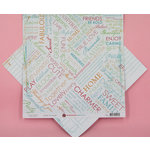 Ruby Rock It Designs - Kindred Spirit Collection - 12 x 12 Double Sided Paper - Heart to Heart, CLEARANCE