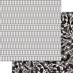 Ruby Rock It Designs - Bella - Melrose Vintage Collection - 12 x 12 Double Sided Paper - Vogue