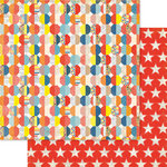 Ruby Rock It Designs - Bella - Paper Boy Collection - 12 x 12 Double Sided Paper - Sphere