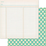 Ruby Rock It Designs - Bella - Paper Doll Collection - 12 x 12 Double Sided Paper - Jot