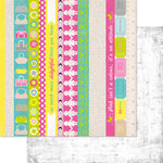 Ruby Rock It Designs - Bella - Paper Doll Collection - 12 x 12 Double Sided Paper - Collage