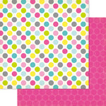 Ruby Rock It Designs - Bella - Paper Doll Collection - 12 x 12 Double Sided Paper - Dotti
