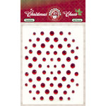 Ruby Rock It Designs - Christmas Cheer Collection - Bling - Twinkles - Red