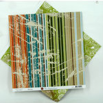 Ruby Rock It Designs - The Summerhouse Collection - 12 x 12 Double Sided Paper - Streak, CLEARANCE