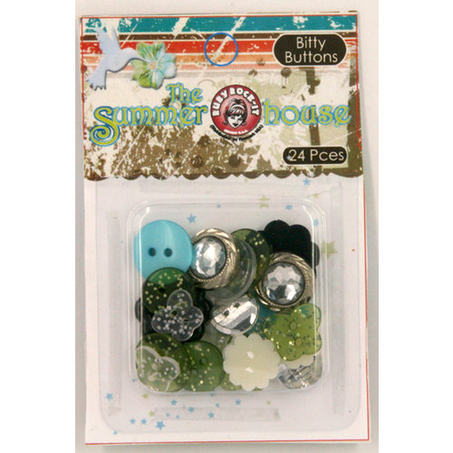 Ruby Rock It Designs - The Summerhouse Collection - Bitty Buttons, CLEARANCE