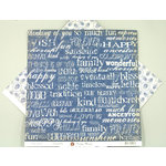 Ruby Rock It Designs - Vintage Beauty Collection - 12 x 12 Double Sided Paper - Memorabilia, CLEARANCE